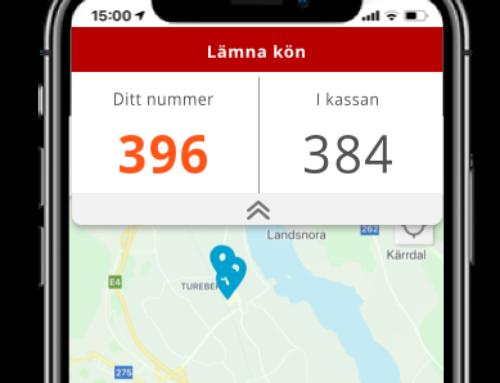 Kölapp i app med q-cloud