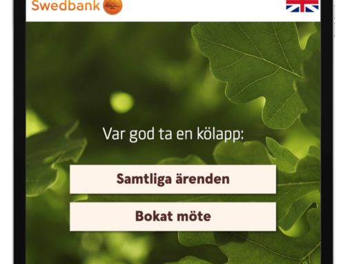 Swedbank väljer q-channel