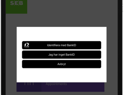 Checka in dina kunder med BankID